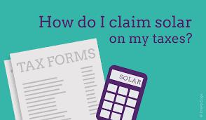 Tax Deductible Solar Panels